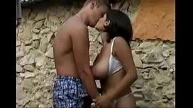 Huge Natural Tits  Babe