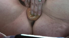 My wife having her first Squirting orgasm.