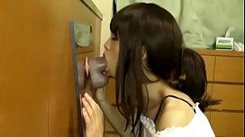 Asian Amateur Girlfriend Sucking Dildo on Webcam - see more at bananacams.com