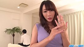 Intense Japanese action with sensual Kotone Kuroki - More at 69avs com