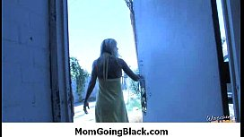 Hot MILF fucked by black monster 28