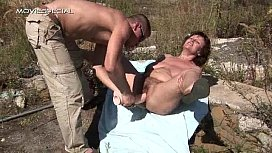 Hot milf gets her hairy muf hammered
