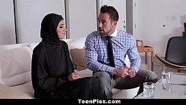 TeenPies - Hot Muslim Teen Fucked And Creampied