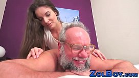 Fetish babe cum creampied