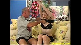 bad daddy fucking his sweet blonde daughter in all positions