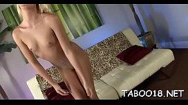 Appealing blonde legal age teenager enjoys pleasing her studs avid long shaft