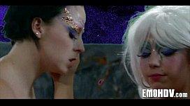 emo goth lesbos 135