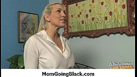 Interracial milf porn - Mommy rides black monster cock 8