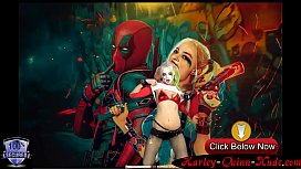 http://Harley-Quinn-Nude.com Super Hot Perfect Titted Harley Quinn Camshow with Dildo