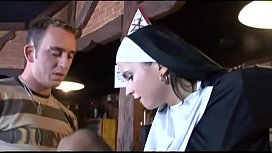 My first time with a real NUN!!!