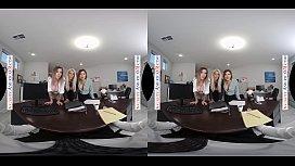 BRIDGETTE B., KARMA RX &amp_ KRISSY LYNN FUCK YOU IN A VR ORGY!