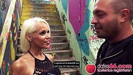 POV PICKUPS ► Blonde MILF in &Ouml_ffentlichkeit auf Treppe weggefickt ◄ SOPHIE LOGAN