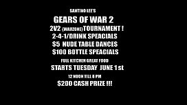 SANTINO LEE'_S GEARS OF WAR2 TOURNAMENT IN MIAMI.