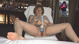 GILF you saw at the store is a masturbation fiend