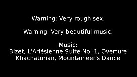 Rough sex and classical music compilation