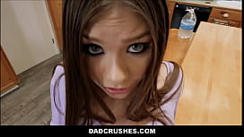 Hot Teen Step d. Orgasms In Daddy'_s Mouth