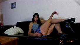 Ana Ribera Webcam - Brunatte Slut Masturbates for you