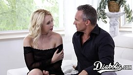 Stunning Samantha Rone has her juice blonde pussy pulverized