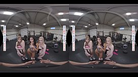 VR GROUP SEX IN THE GYM WITH DOLLY LEIGH, EMILY WILLIS &amp_ EMMA STARLETTO