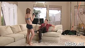 Hot legal age teenager beauties expose their flawless bodies for the casting