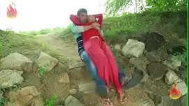 couples enjoys at bank of river