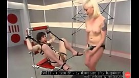 Bonded Slave Pegged And Whipped By Blonde Dominatrix Music By ivvill