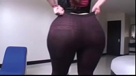 A Thick Latina in Sexy Brown Pants n'_ Without