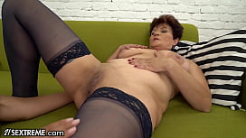 21Sextreme Thirsty Granny Can'_t Keep Her Tongue Out Of My Ass