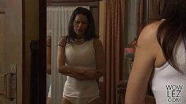 Lesbian pornstars Veruca James and Vanessa Veracruz