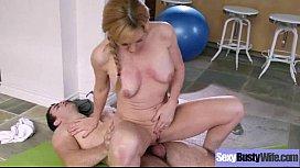 Mature Busty Wife (sasha sean) Like Intercorse On Camera clip-26