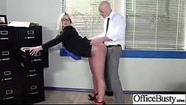 (julie cash) Slut Girl With Big Juggs Bang In Office video-23
