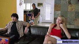 Sex hard Scene With Big Juggs Hot Wife (ariella ferrera) movie-05