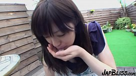 Hairy Japanese Hooker Gets A Creampie