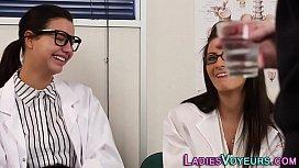 Cfnm nurse domina watches