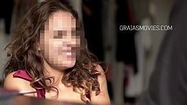 Teen slut up for a blowjob, gets punished instead