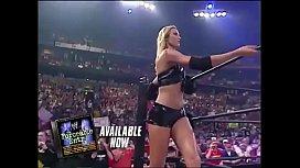 Trish Stratus vs Stacy Keibler.