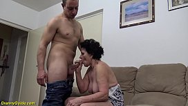 sexy 72 years old hairy granny rough fucked