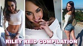 BANGBROS - Petite Pornstar Riley Reid One Hour Compilation Video