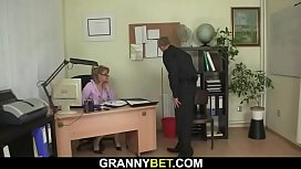 He fucks office mature woman