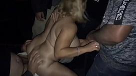 Slut wife fucked at adult theater