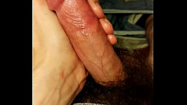Cumming what was left after a jerk session