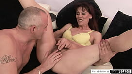 Young looking Hairy GILF Gina Red enters Toy and Orgasm City