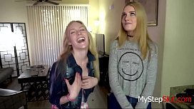 Hot Teen Daughters Fuck Daddy-Emma Starletto &amp_ Mazzy Grace