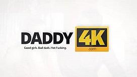 DADDY4K. Esperienza inattesa con un anziano gentleman