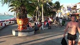 Beach Whores in Pattaya Thailand 태국, 아시아, 관광, 레드 라이트