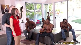 Birthday Gangbang with Sexy Mom Alana Cruise