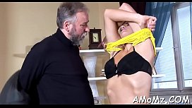Sultry mom fucked by a sexy lad