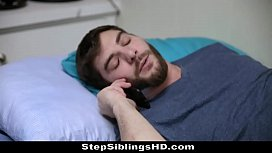 Sick Stepbro Gets Hot Sis Nina Skye To Suck &amp_ Fuck Him