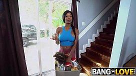 Sarai Minx Cleans More Than Just Floors
