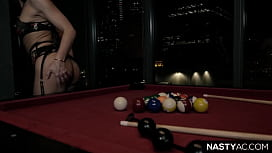 If she can get a pool ball in her mouth, then surely her ass as well - Adriana Chechik